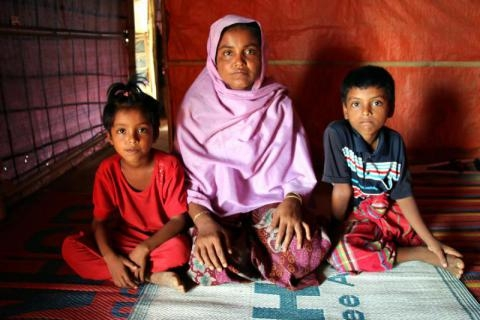 We need to 'step up to the plate' and increase support for Rohingya refugees in Bangladesh